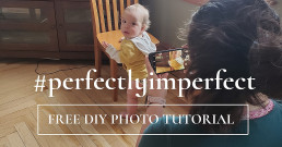 Mom taking picture of baby: Free DIY Photo Tutorial