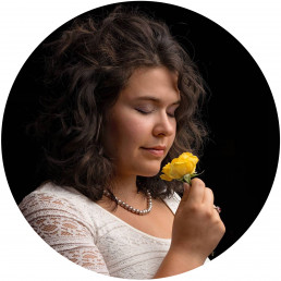 Portrait of Melody Joy Paine, Massachusetts Family Photographer